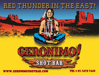 Geronimo Shot Bar, Roppongi